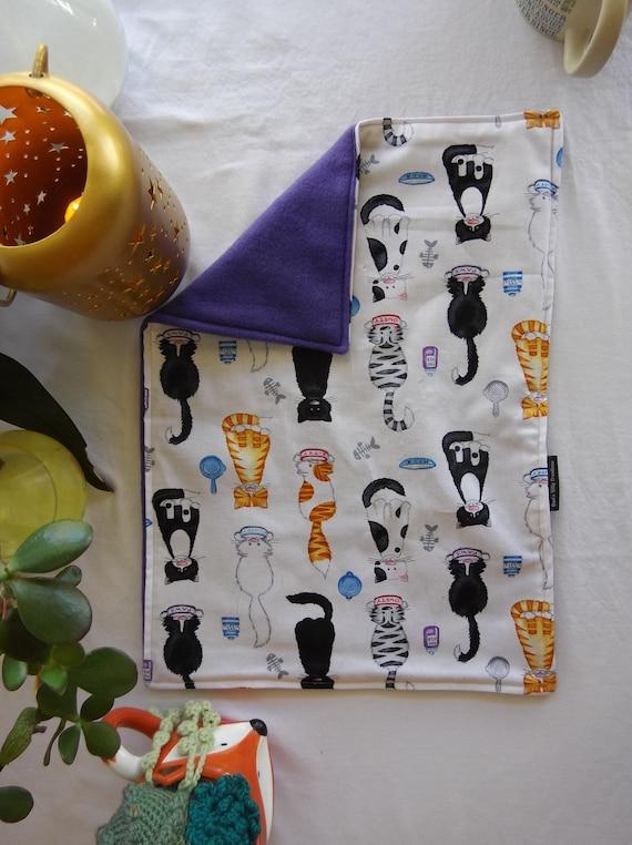 Organic Catnip Blankets Fleece - Kitty Snacks