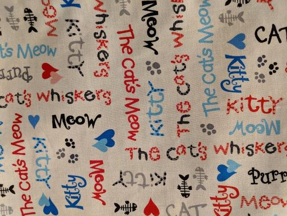 Organic Catnip Blankets -Kitty Writing