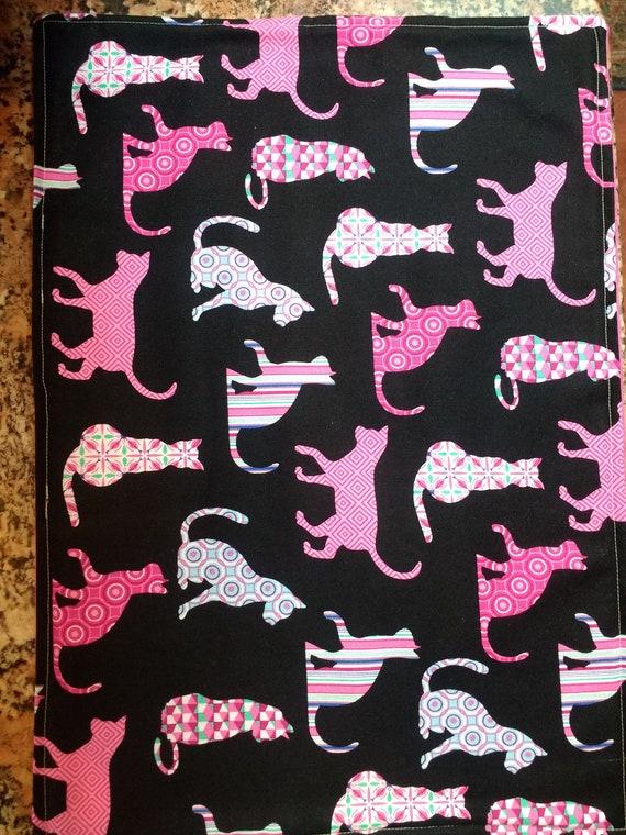 Organic Catnip Blankets- Purrfect in Pink