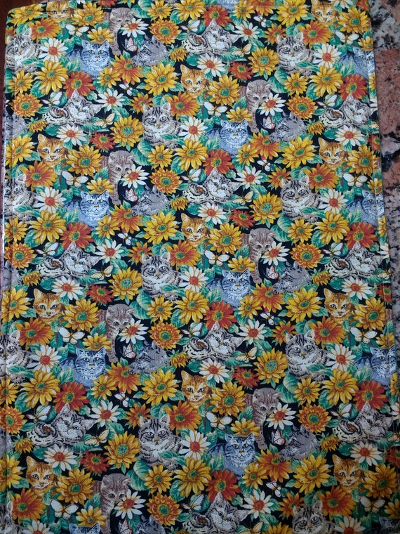 Organic Catnip Blankets- Dancing in Daisies