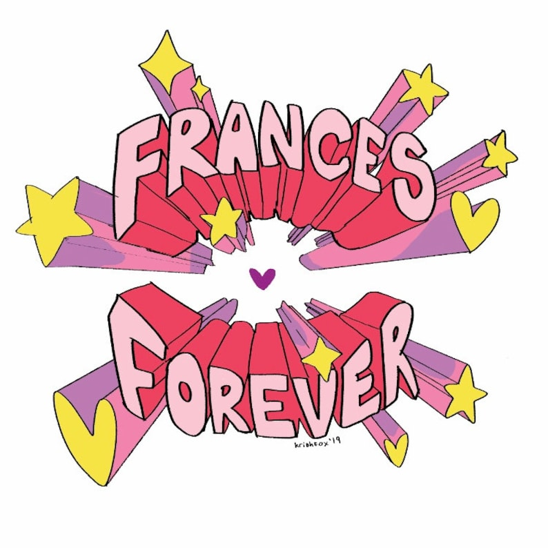 Frances Forever Stickers image 0