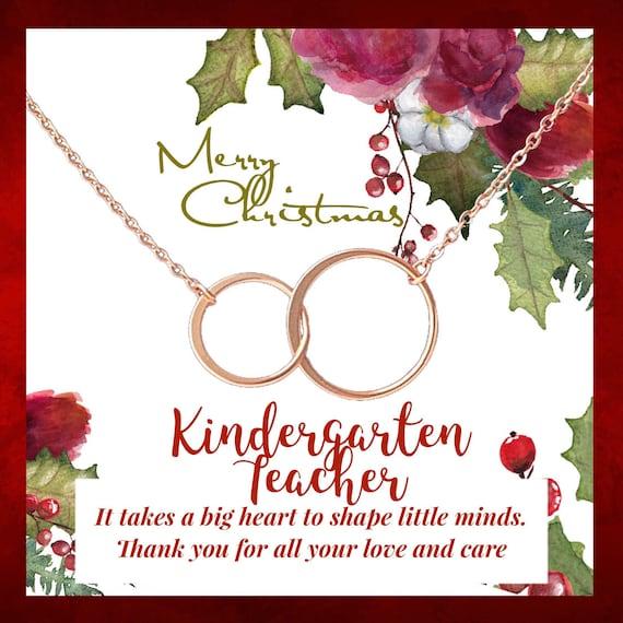 Christmas Gifts For Kindergarten Teacher Teacher Gift Etsy