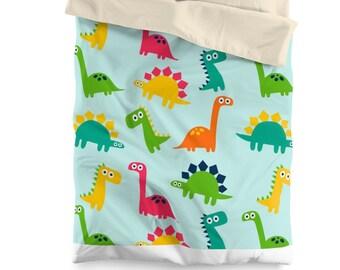 567b015648 Ensemble de housse de couette dinosaure, décor de chambre à coucher, linge  de lit, chambre dinosaure, dinosaure thème, les enfants chambre décor, ...