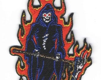 In Flames Patch Sew or Iron On