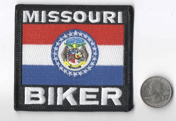 State Flag Iron On Sew On Embroidered Patch 3 12x 3 18 Wisconsin Biker