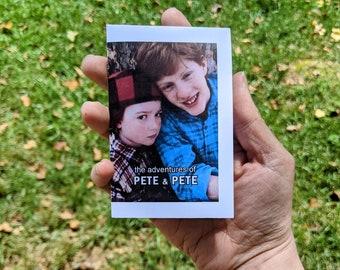 adventures of pete & pete mini fanzine - 90's nostalgia - nickelodeon show