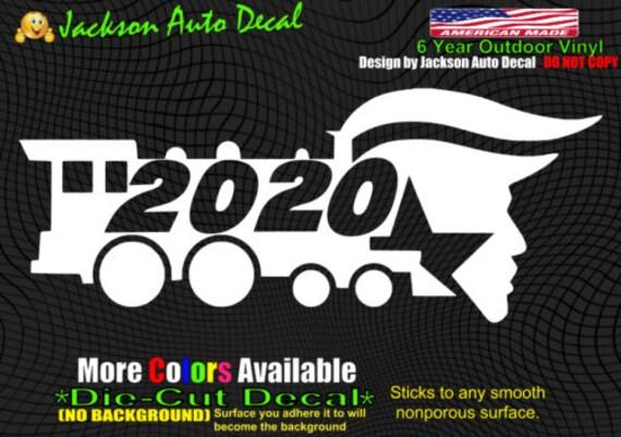 AMERICA LOVE IT OR LEAVE IT DIECUT BUMPER STICKER DECAL MAGA TRUMP 2020
