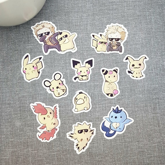 Luxray  Pokemon Go Pokemon Waterproof Self Adhesive Vinyl Sticker