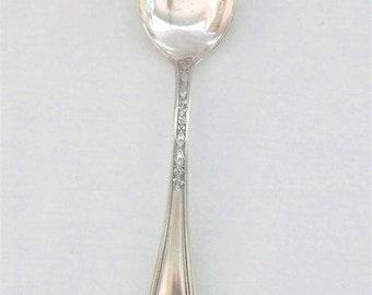 Antique STRATFORD Silver 1917 VIRGINIA Serving Tablespoon 8 Set of 4