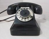 Vintage telephone BAGTA-50 VEF rUSSIAN sOVIET union USSR bakelite