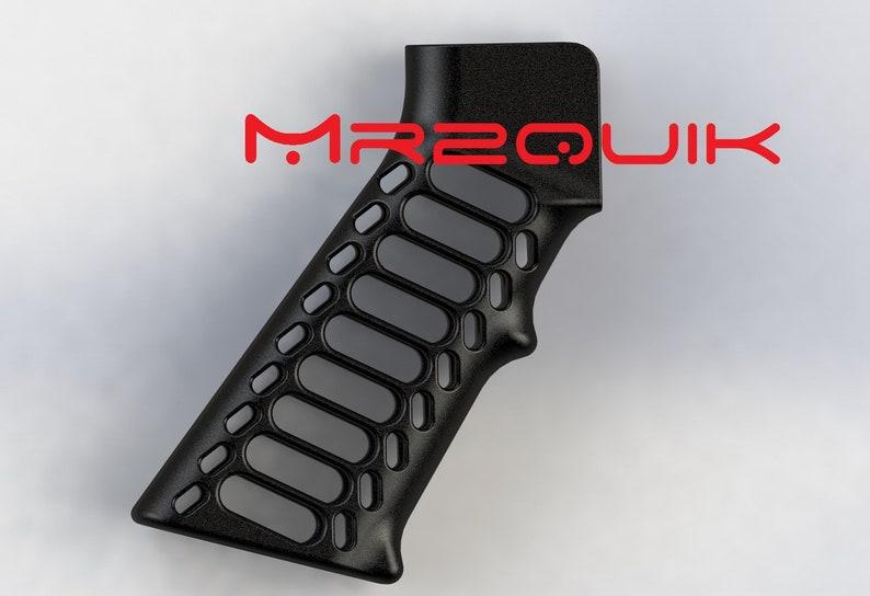 FlatSlot AR Skeleton Grip