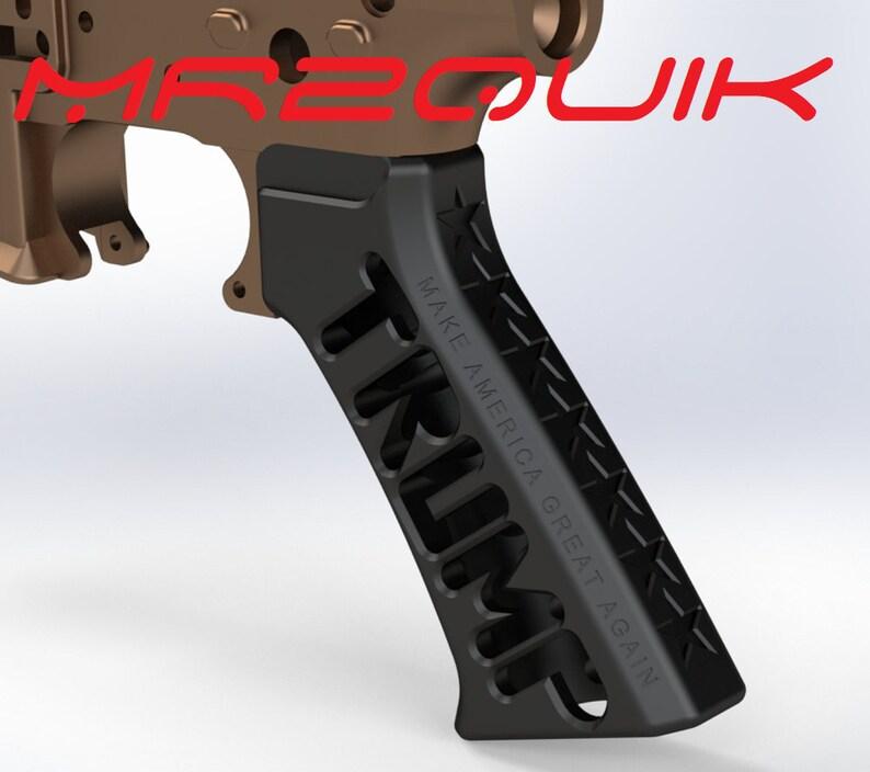AR-15 Skeleton TRUMP Grip
