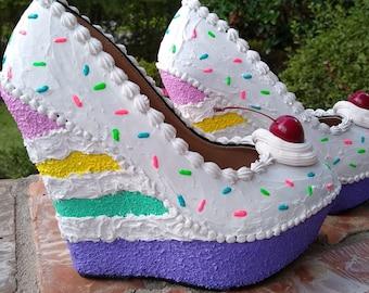 Unicorn heels   Etsy