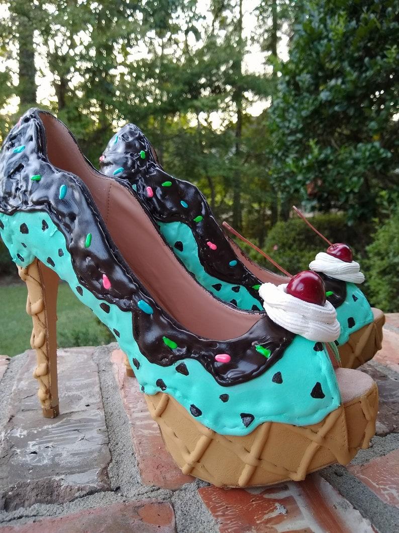 Ice Cream High Heels