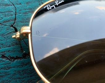 9205de0101 Ray Ban BL Pilot Aviator vintage sunglasses