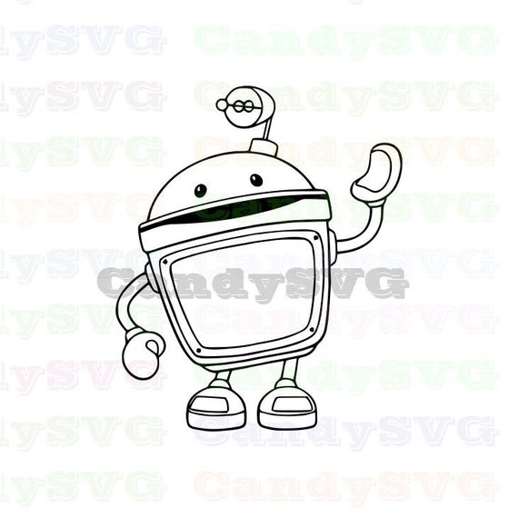 Bot Team Umizoomi Stitch Outline Svg ,Stitch silhouette ,Coloring page ,Svg  Dxf Eps Pdf Png