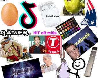 d4921ea8 2019 so far ; air pods ; world record egg ; stickers ; 2019 ; James Charles  ; bird box ; juul ; big chungas ; Tik Tok ; Hit or Miss
