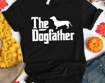 5fe2a3fc Dachshund Dog T shirt - Dachshund The Dog Father T shirt - Dachshund Dog Father  T shirt - Dad Father's Day Gift - Father's Day T shirt