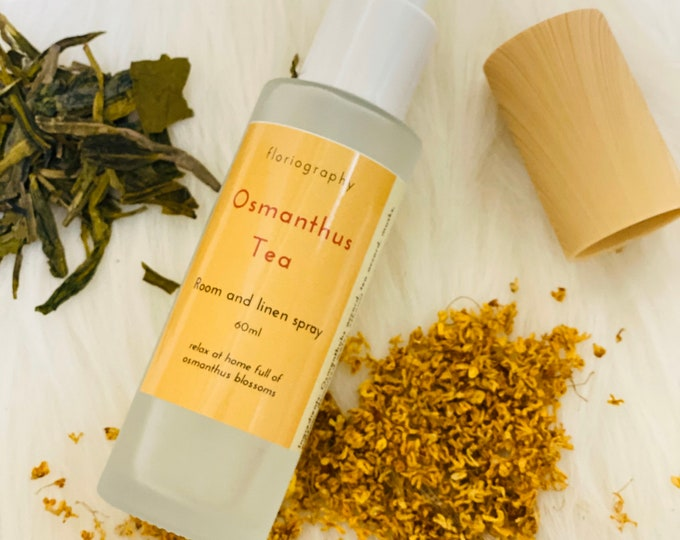2020 Spring - No. 39 Osmanthus Tea | Room & Linen Spray 60ml | Osmanthus | Jasmine | Apricot | Tea