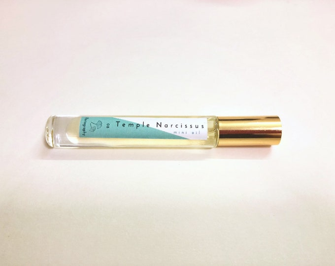 No. 08 Temple Narcissus | Roll on Perfume Oil | Frankincense | Narcissus