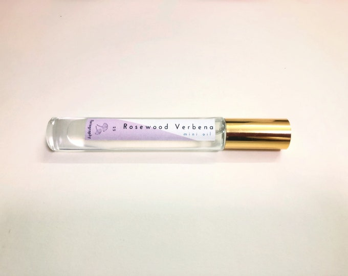 No. 25 Rosewood Verbena | Roll on Perfume Oil | Verbena