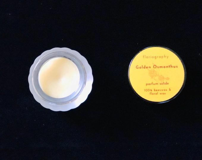 Solid Perfume - Golden Osmanthus | Osmanthus | Jasmine | Apricot