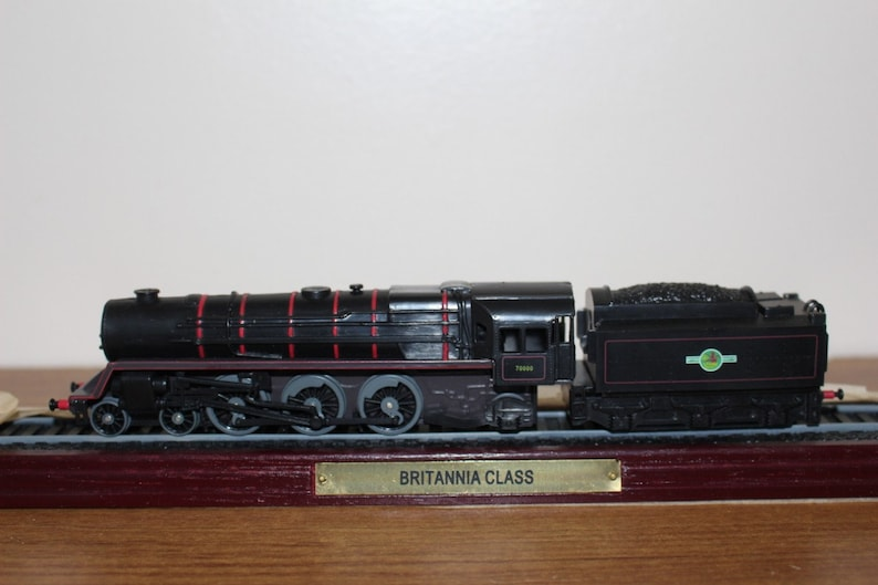 Vintage locomotive, collectibles locomotive, vintage train, locomotive,  Britannia locomotive, Atlas edition