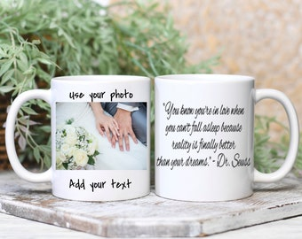 Personalized Photo Coffee Mug, Wedding Gift, Birthday Gift, Cup with Picture - Add you own Personalization
