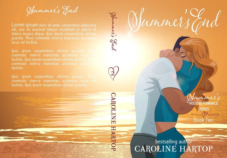 Premade Book Cover Series Trilogy Boxset Contemporary image 3