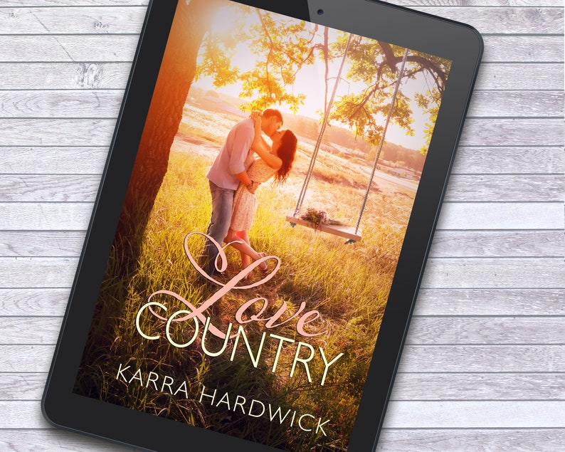 Sweet Country Romance Premade Ebook Cover Art with Print Book image 2
