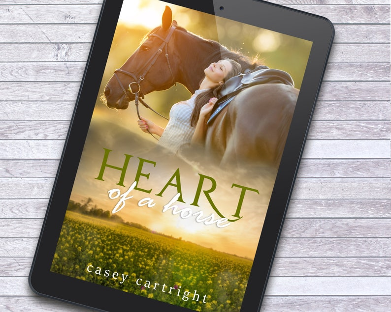 Heart of a Horse Country Women's Fiction Premade Ebook image 1