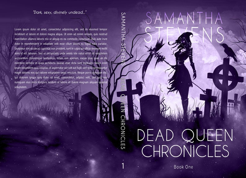 Premade SERIES Book Cover Bundle  Dark Fantasy Urban image 1