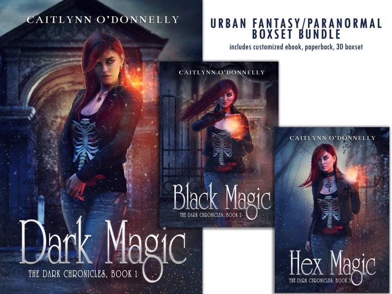 Premade Book Cover Series Fantasy Boxset  Urban Paranormal image 0