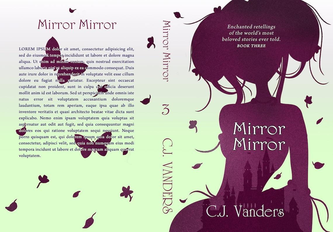 Premade SERIES Book Cover Bundle  Fairytale Fantasy YA image 5