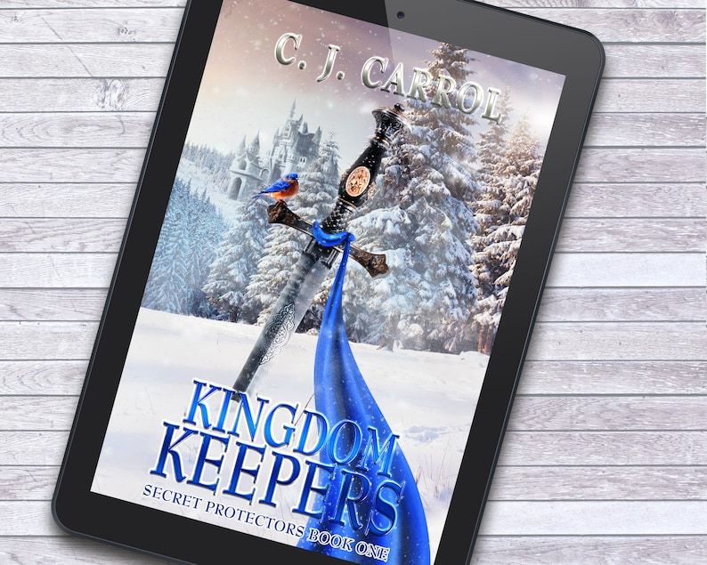 Sword in the Snow Epic Kingdom Fantasy Premade Ebook Cover image 1
