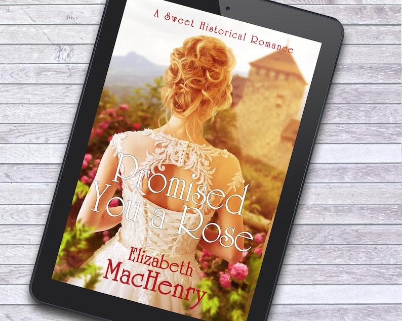 Regency Romance Historical Women's Literature Premade image 1