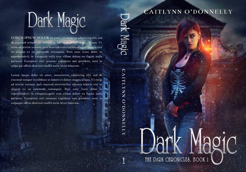 Premade Book Cover Series Fantasy Boxset  Urban Paranormal image 2