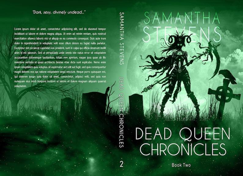 Premade SERIES Book Cover Bundle  Dark Fantasy Urban image 2