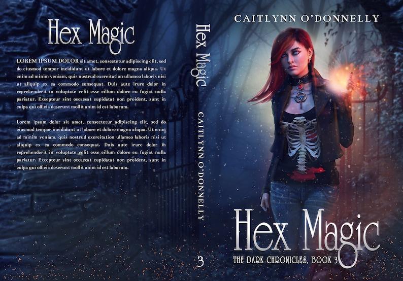 Premade Book Cover Series Fantasy Boxset  Urban Paranormal image 4