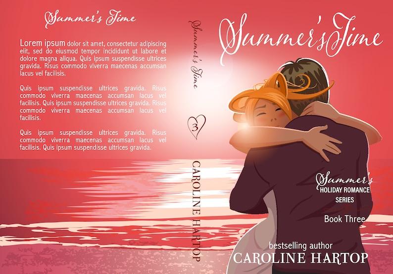 Premade Book Cover Series Trilogy Boxset Contemporary image 5