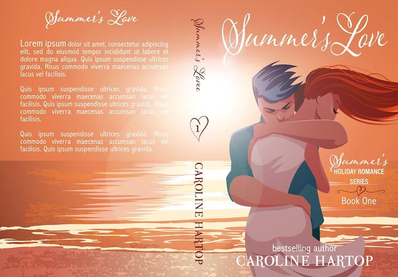 Premade Book Cover Series Trilogy Boxset Contemporary image 1