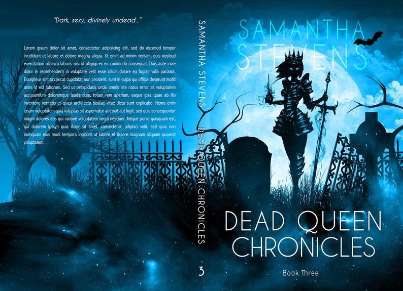 Premade SERIES Book Cover Bundle  Dark Fantasy Urban image 3