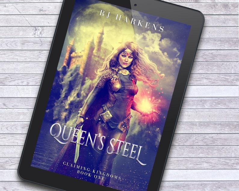 Sword & Sorcery Fantasy Premade Ebook Cover Design with Print image 1