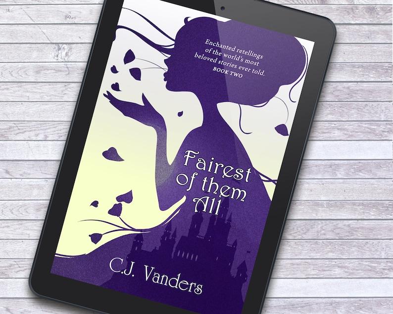 Premade SERIES Book Cover Bundle  Fairytale Fantasy YA image 2