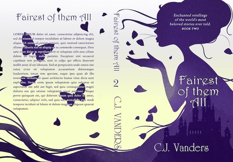 Premade SERIES Book Cover Bundle  Fairytale Fantasy YA image 1