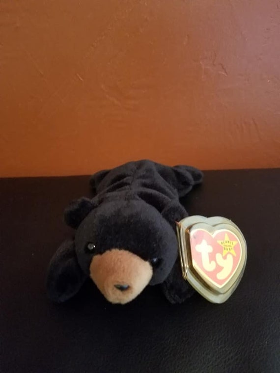 RARE Limited Edition BLACKIE Beanie Baby  71983fec8a53