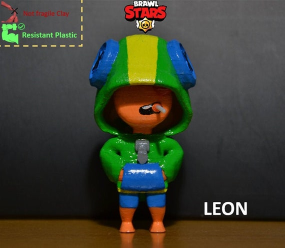 Brawl Stars Action Figure Leon Plastic New