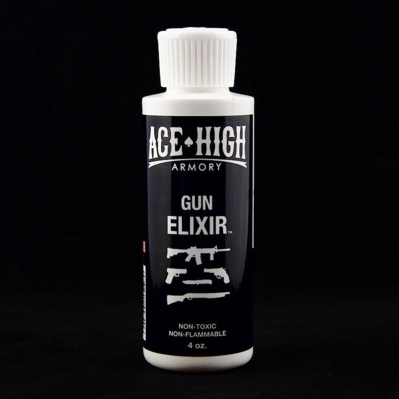 Gun Elixir 4 oz.  A bio-based CLP for firearms and knives image 0
