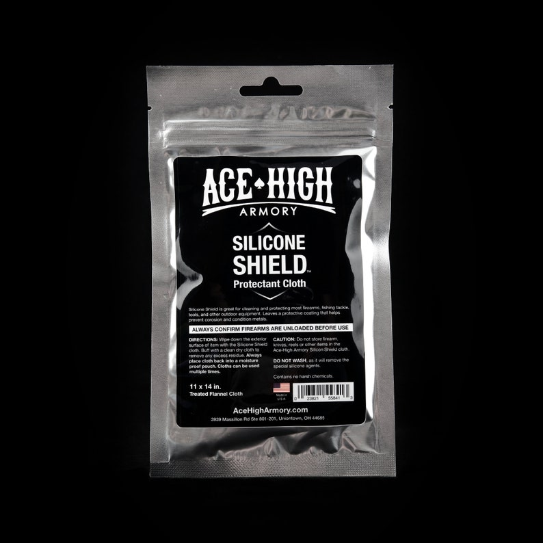 Silicone Shield  Protectant Cloth for firearms knives and image 0