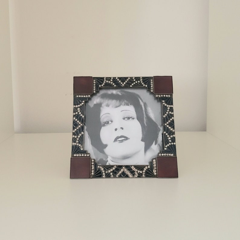 Art Deco Depose Made in France Picture Frame